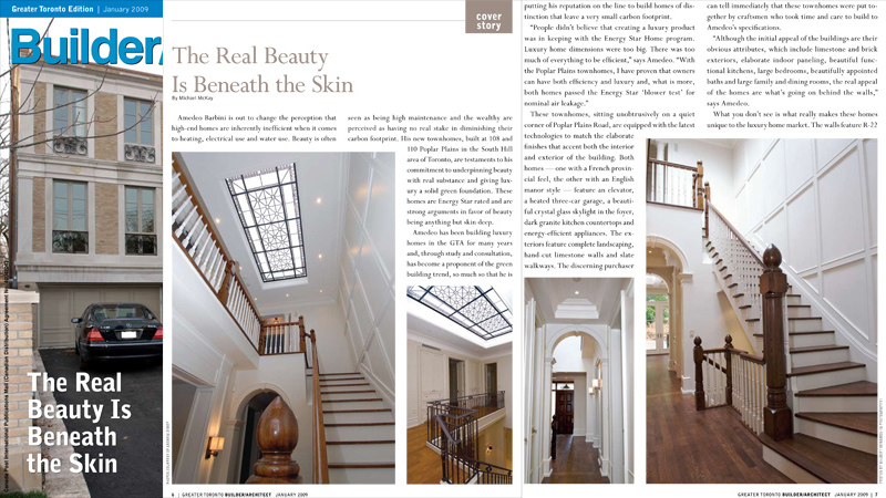 Skylight by Victoria Balva and Eugene Bakumenko has been featured in Builder/Architect magazine in a cover story The Real Beauty is Beneath the Skin by Michael McKay