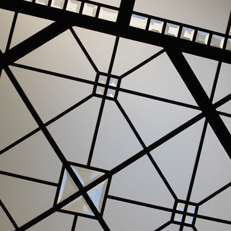 Larissa - leaded glass skylight